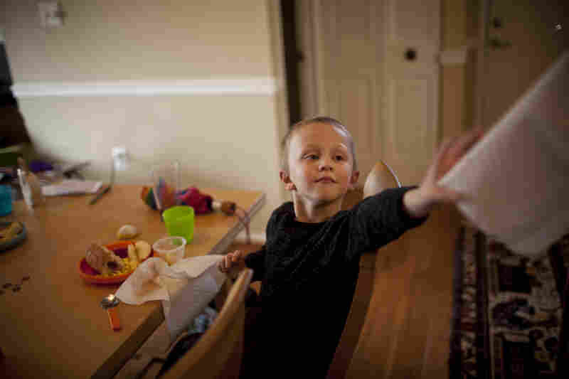 According to the Census Bureau fewer than about 3.5 percent of stay-at-home parents are fathers, but the figure doesn't include men who do some work and are their children's primary caregivers.