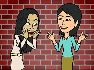 Bitstrips is a popular website and Facebook app that has teens and others making their own cartoons.