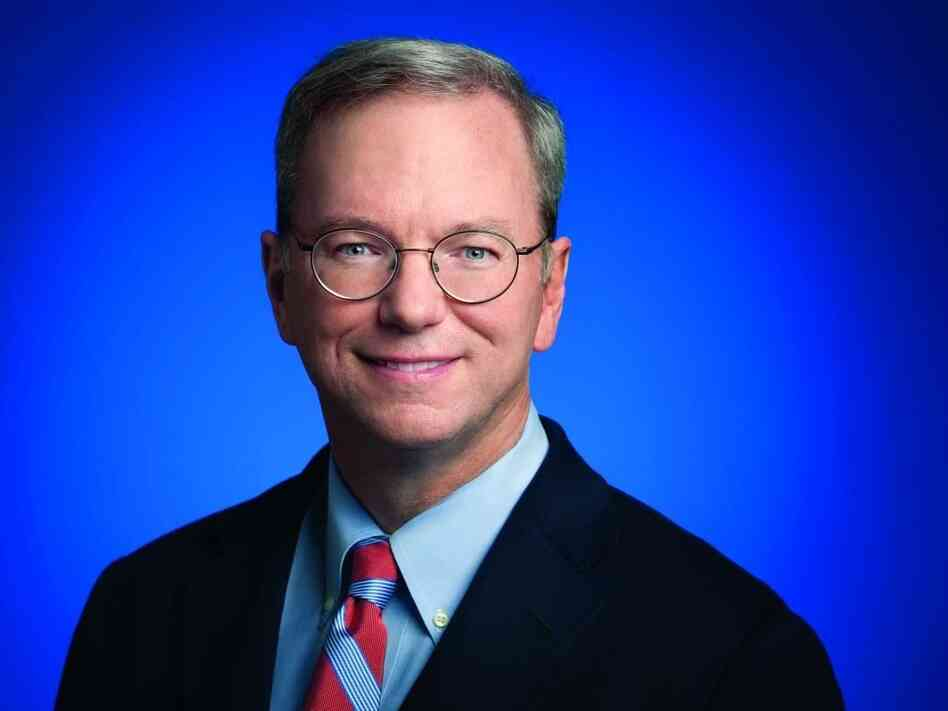 Eric Schmidt was the CEO of Google for 10 years. He is currently Google's executive chairman and the chairman of the board of The New America Foundation.