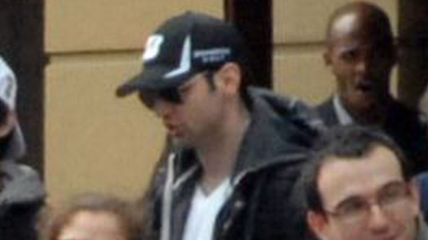 Bombing suspect Tamerlan Tsarnaev, 26, in a surveillance image taken shortly before the blasts that struck the Boston Marathon last month. (Associated Press)