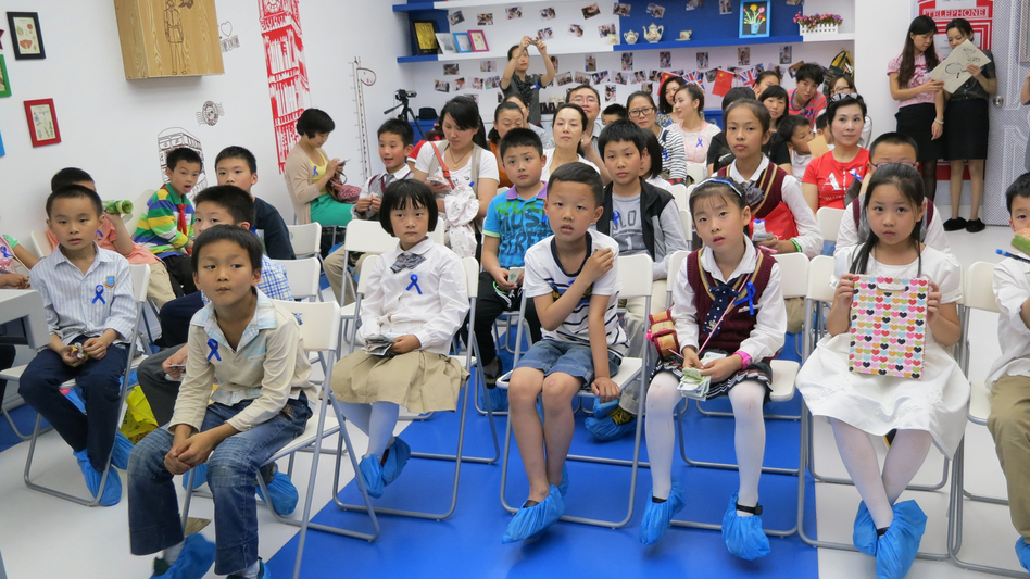 The children of wealthy Chinese attend classes designed to teach them how to do things like raise money for charity. The parents pay up to $10,000 a year to send their kids to weekend classes. (NPR)