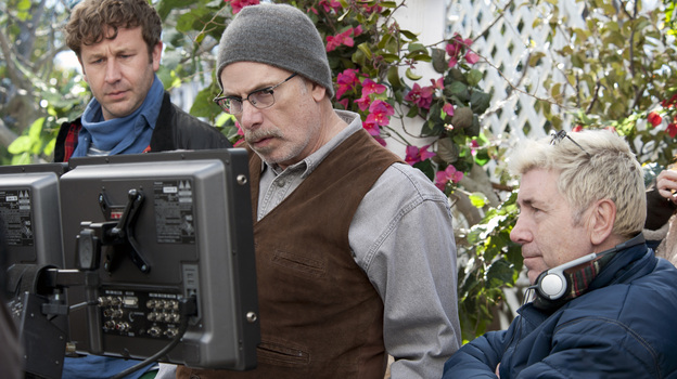 Chris O'Dowd (left) stars in Family Tree, a new HBO show from Christopher Guest (right) and Jim Piddock. (HBO)