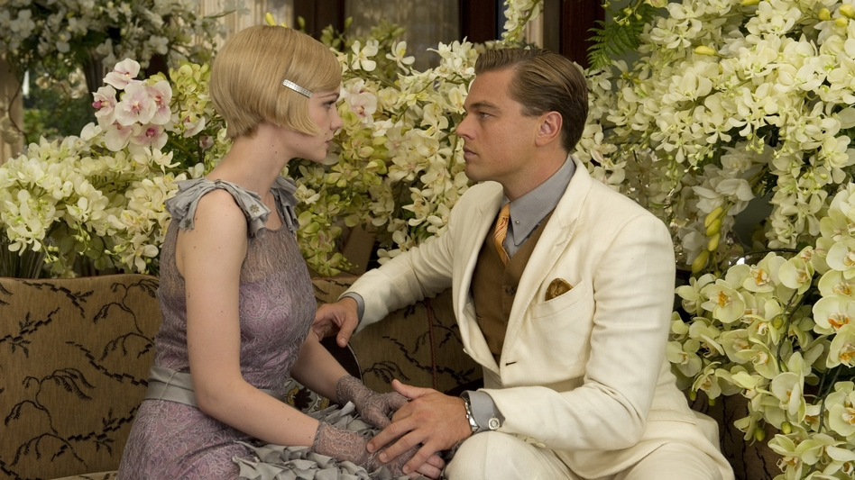 Carey Mulligan and Leonardo DiCaprio in Baz Luhrmann's <em>The Great Gatsby</em>.