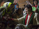 A supporter greets Imran Khan  at a campaign rally on May 6, in Multan, Pakistan. Pakistan's parliamentary elections will be held on Saturday, and Khan's party is hoping the large, enthusiastic crowds at rallies will translate into a strong showing at the polls.