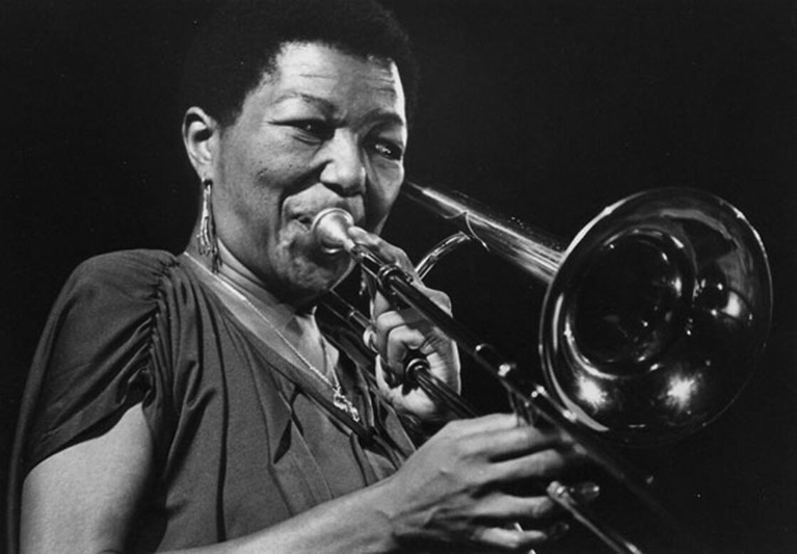 Trombonist and arranger Melba Liston is one of the women featured in a new documentary about female instrumentalists in jazz, The Girls in the Band.