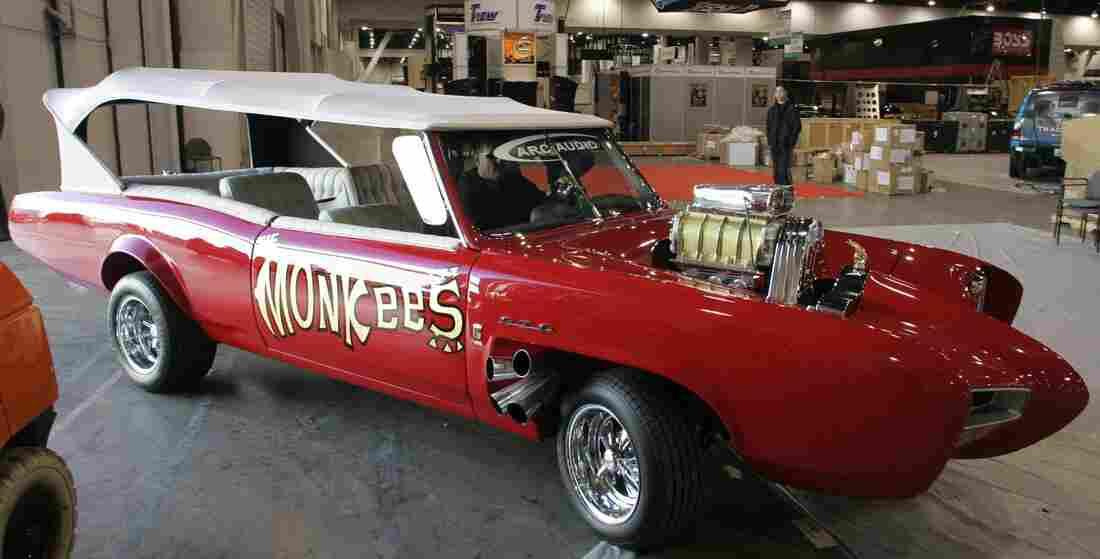 Hey, hey: The Monkeemobile, one of Dean Jeffries best-known creations.
