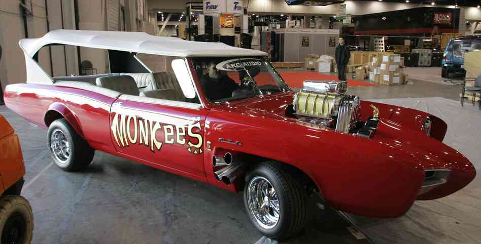 Hey, hey: The Monkeemobile, one of Dean Jeffries best-known creations.