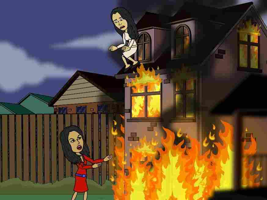 """Jump, Nishat! Ayesha will catch you!"""