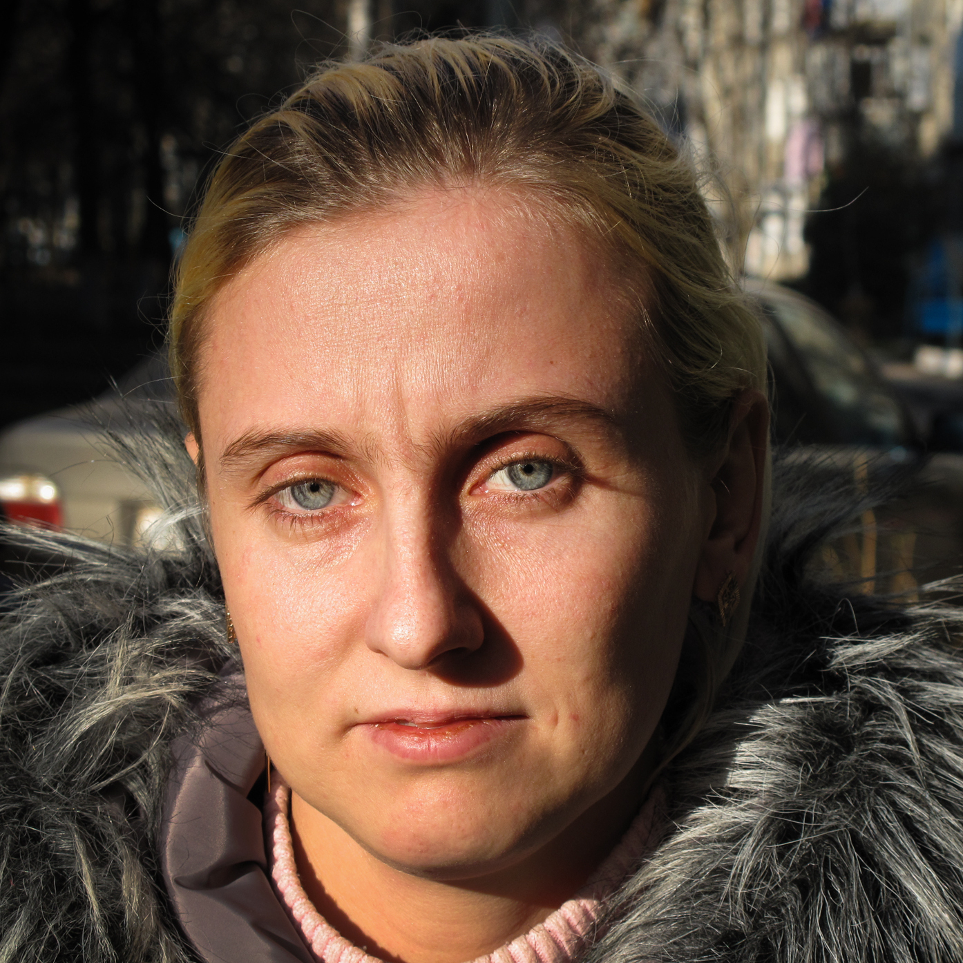 "Snejana Negrescul, a 27-year-old mother, describes how it feels to have drug-resistant TB in Balti, Moldova. ""You go somewhere -- even in the Town Hall -- they are immediately afraid of you. They treat you like a monster, not a sick person."""