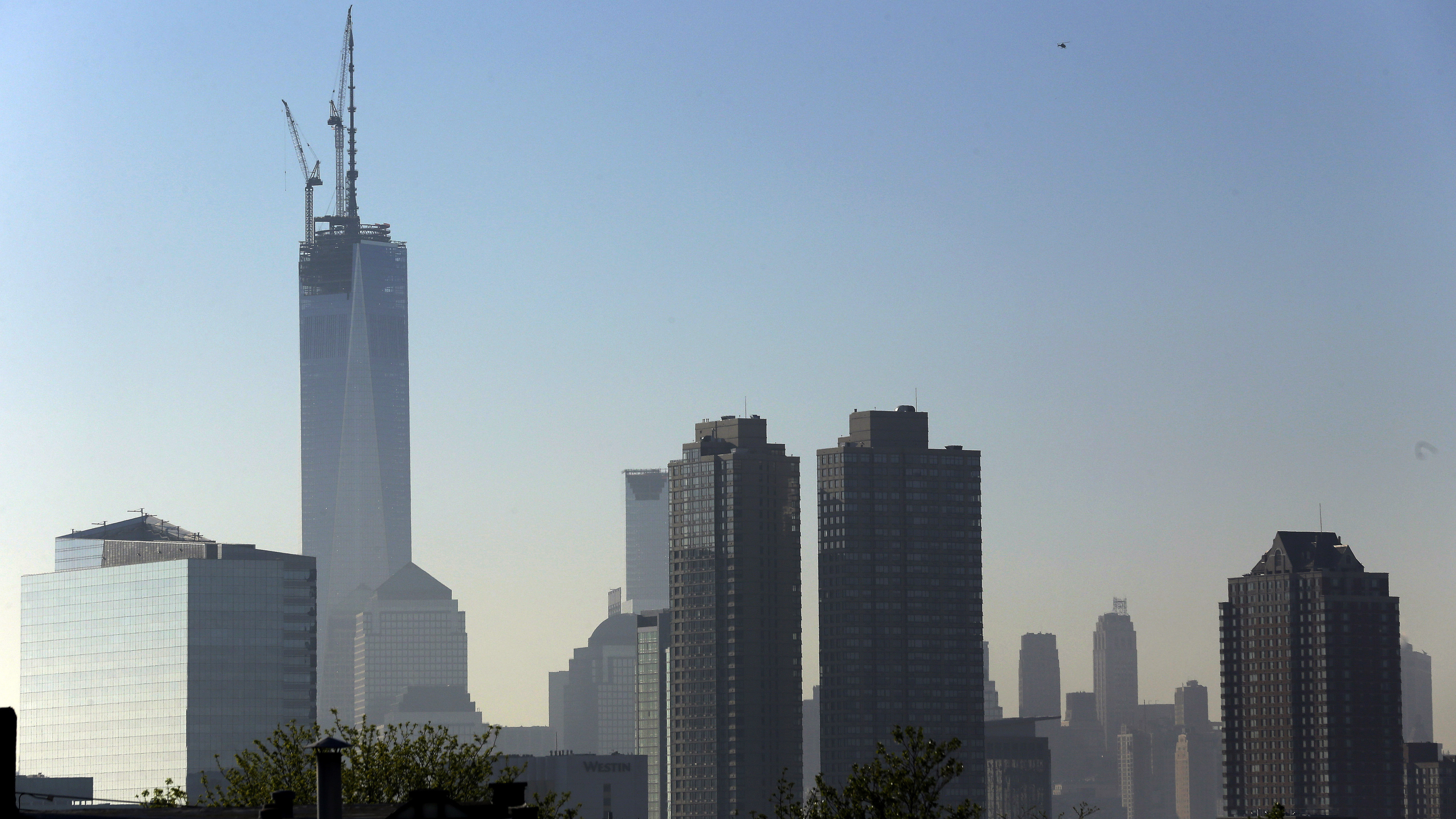 Spire Intact, World Trade Center Stretches To 1,776 Feet