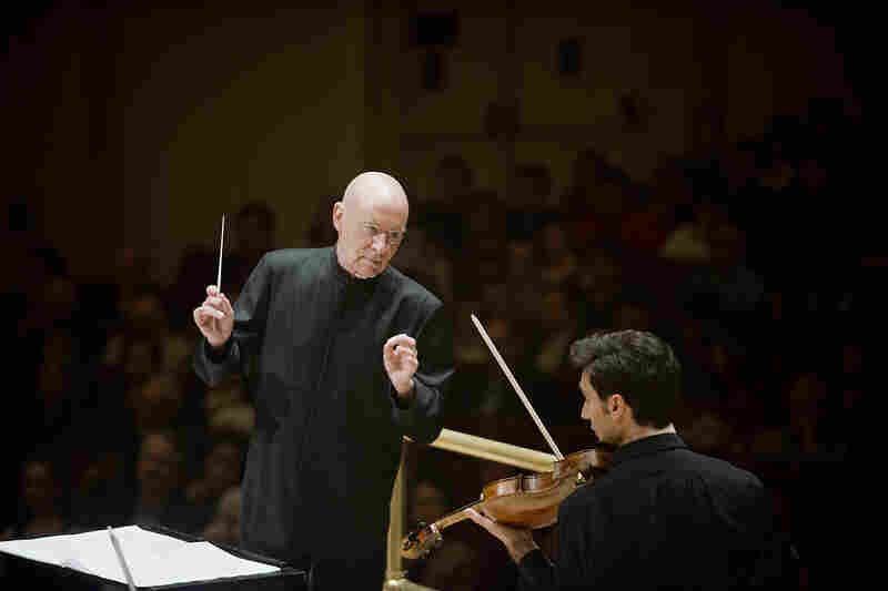 Schnittke wrote his viola concerto for Carpenter's teacher, Russian violist Yuri Bashmet — and Bashmet's name forms the melodic kernel for the entire 40-minute work.