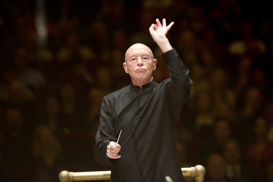 Conductor Christoph Eschenbach and the National Symphony Orchestra gave the final performance in this year's Spring for Music Festival at Carnegie Hall on May 11, 2013. The program was of all 20th-century Russian music: Shchedrin's <em>Slava, Slava</em>; Schnittke's Viola Concerto; and Shostakovich's Fifth Symphony.