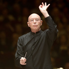 Conductor Christoph Eschenbach and the National Symphony Orchestra gave the final performance in this year's Spring for Music Festival at Carnegie Hall on May 11, 2013. The program was of all 20th-century Russian music: Shchedrin's Slava, Slava; Schnittke's Viola Concerto; and Shostakovich's Fifth Symphony.