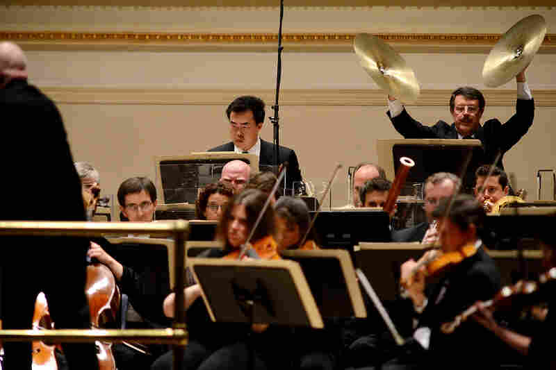 Eschenbach took the final minutes of Shostakovich's Fifth Symphony far more slowly than most conductors — about twice as slow, by his own reckoning.