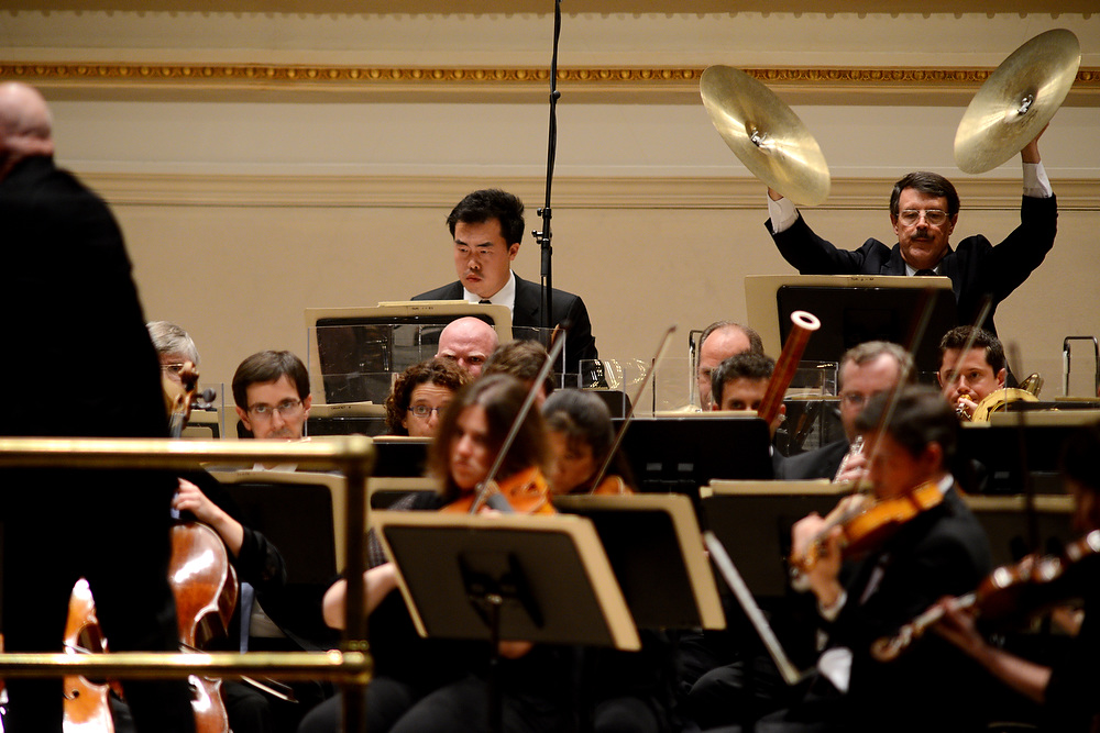 Eschenbach took the final minutes of Shostakovich's Fifth Symphony far more slowly than most conductors -- about twice as slow, by his own reckoning.