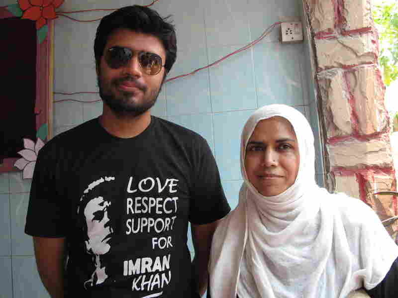 Bilal Ahmed and his mother, Adeeba Kauser, say Pakistan needs change.