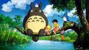 A scene from Hayao Miyazaki's 1988 film, My Neighbor Totoro.