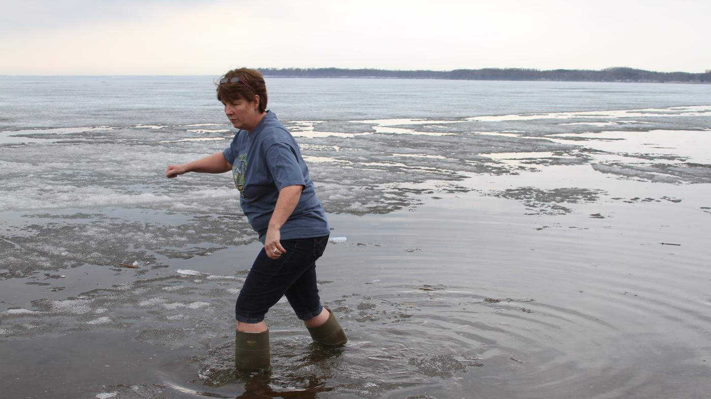 Frozen Lakes Cut Into Minnesota Fishing Tradition : NPR