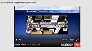 NASA's webcast.