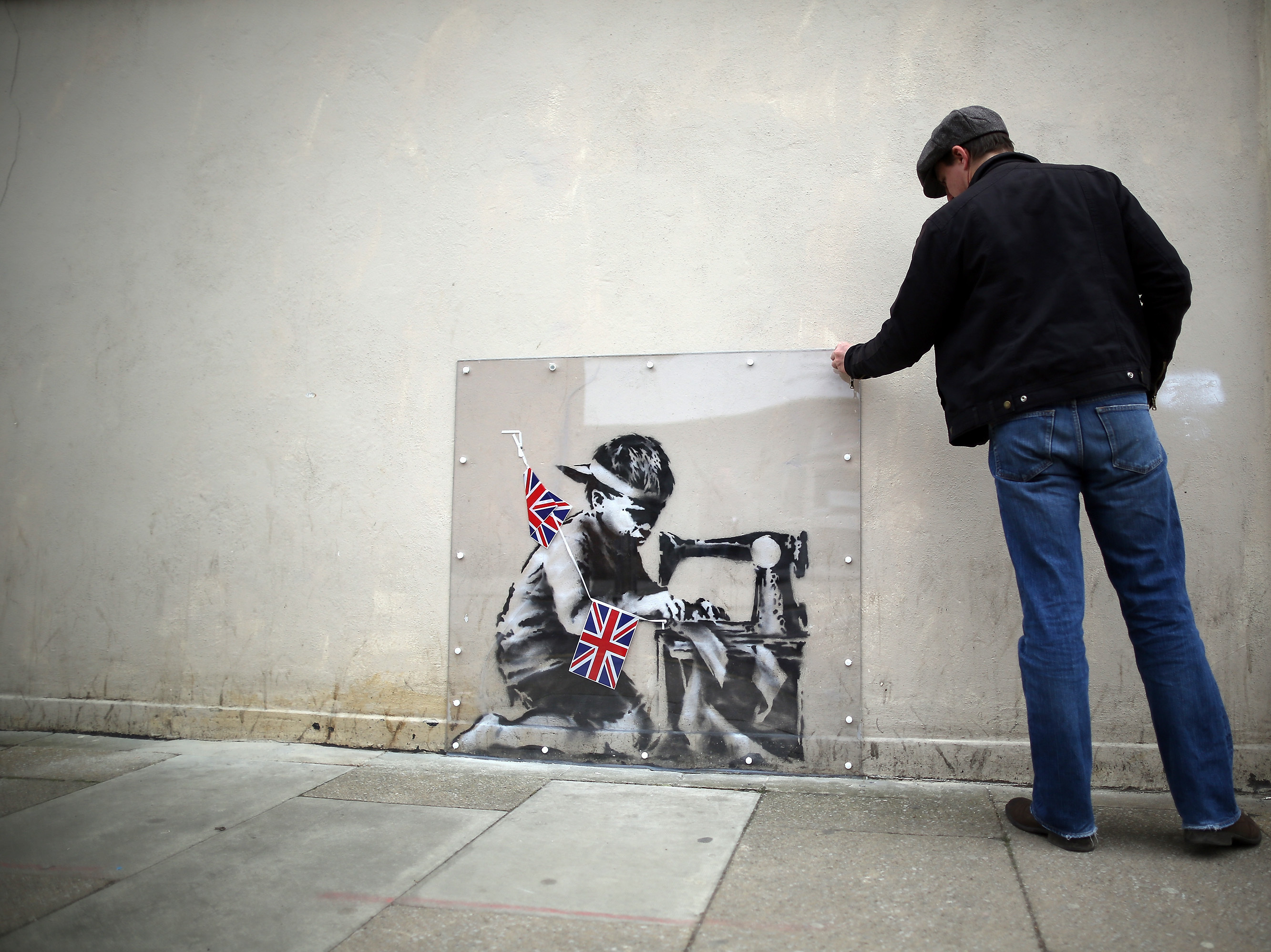 Banksy Mural May Be Coming To U.S. After All