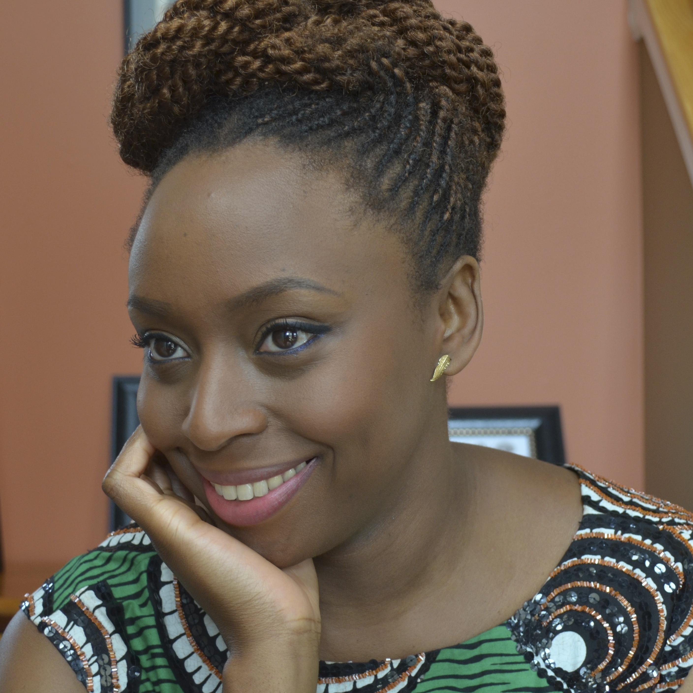 Chimamanda Ngozi Adichie is also the author of Purple Hibiscus and Half of a Yellow Sun.