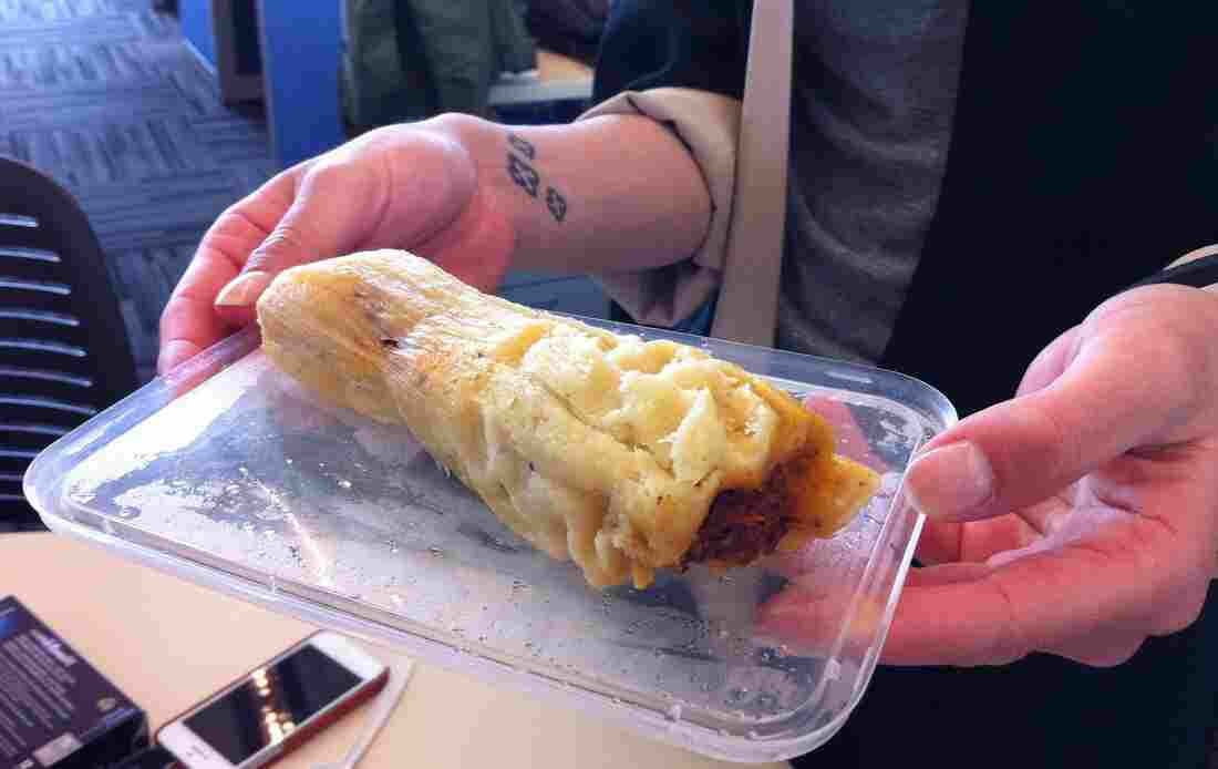 A naked tamale.