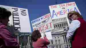 Tea Party activists gather on Capitol Hill in 2011. A surge in applications for 501(c)(4) status in recent years has revealed sometimes murky and contradictory rules governing the political activities of tax-exempt groups.