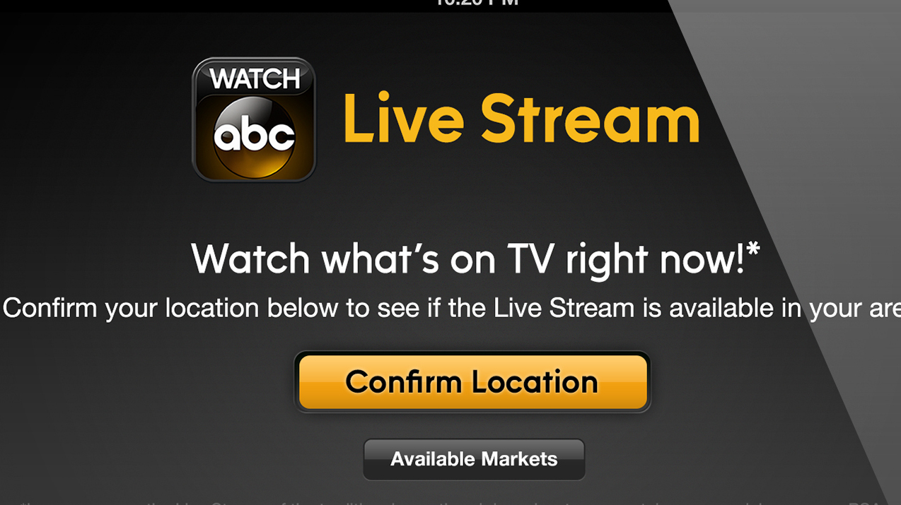 Image for ABC's Live Streaming Aimed At Keeping Cable Cords Intact ...