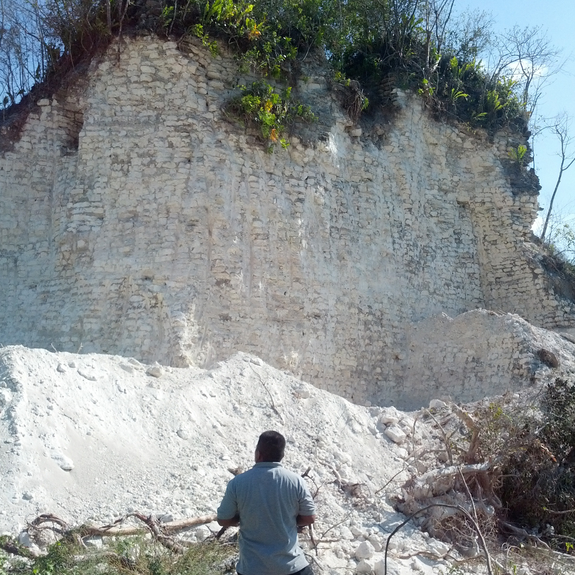 Road Crew In Belize Destroys Ancient Pyramid