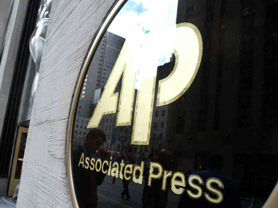 The AP logo.