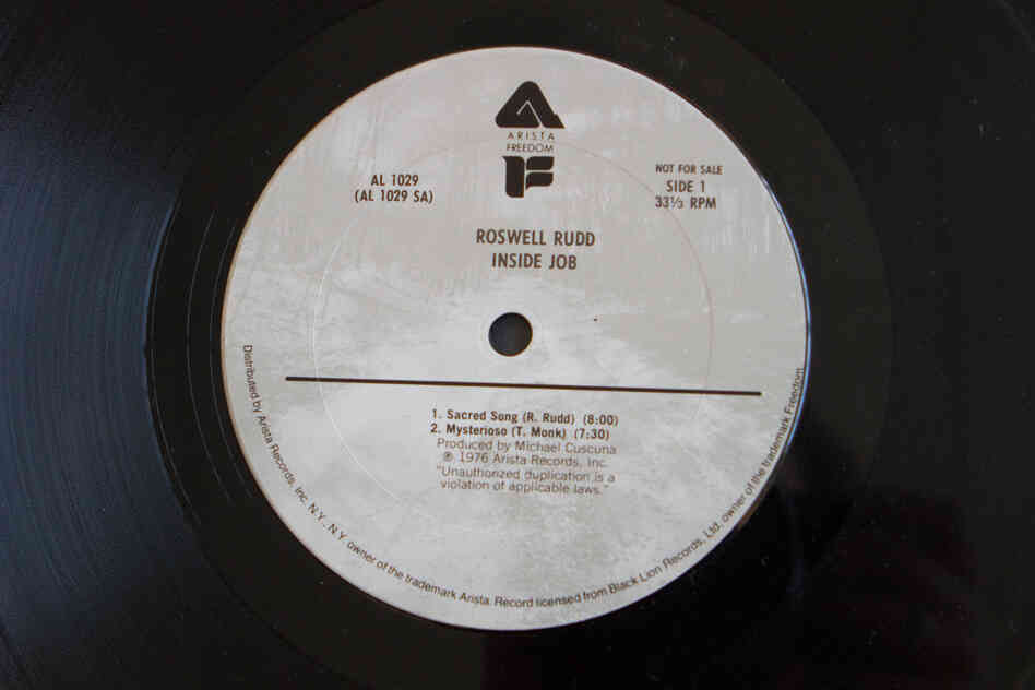 Arista Records (Inside Job by Roswell Rudd, 1976)
