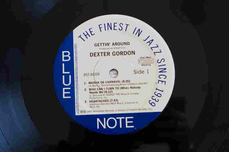 Blue Note Records(Gettin' Around by Dexter Gordon, 1965)