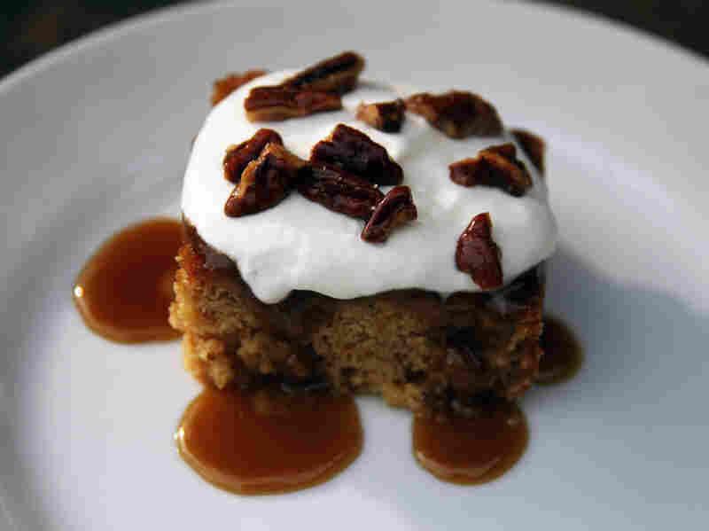 Butterscotch Breadcrumb Cake