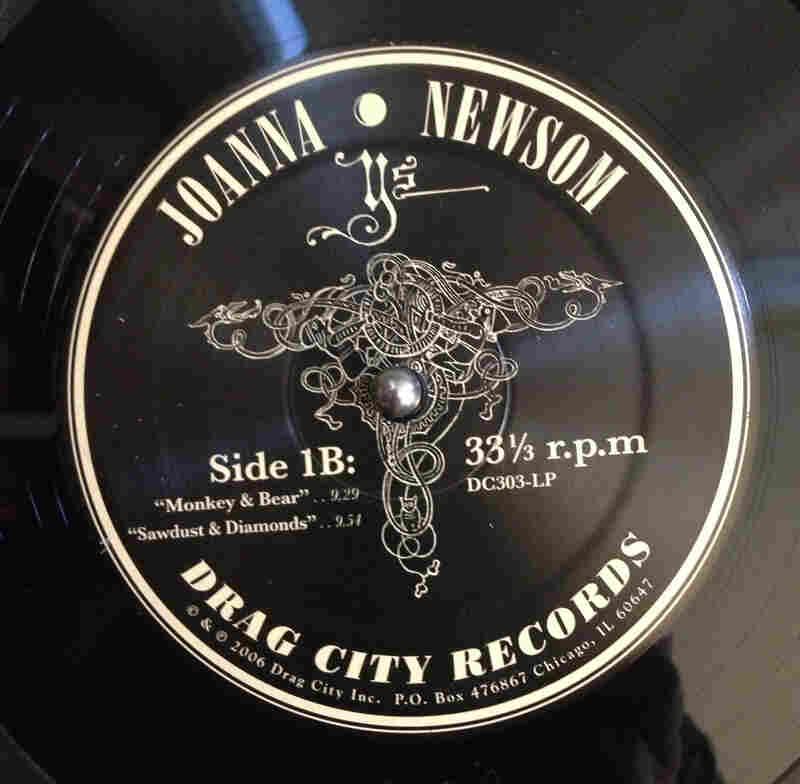 Drag City Records (Ys by Joanna Newsom, 2006)