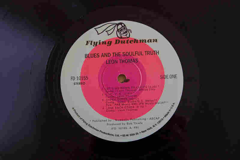 Flying Dutchman Records(Blues and the Soulful Truth by Leon Thomas, 1972)