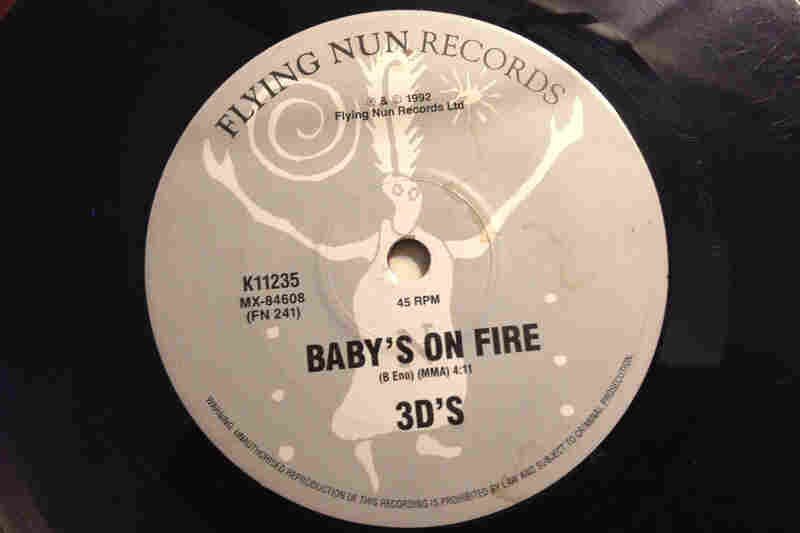 "Flying Nun Records(""Baby's On Fire"" by 3D's, 1992)"
