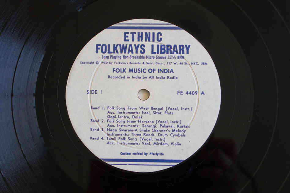 Folkways Records(Folk Music of India by Various Arti