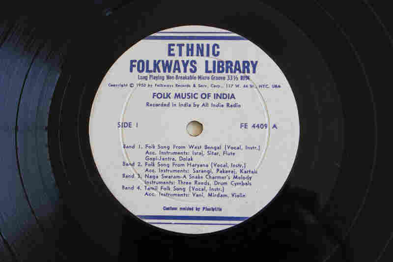 Folkways Records(Folk Music of India by Various Artists, 1950)