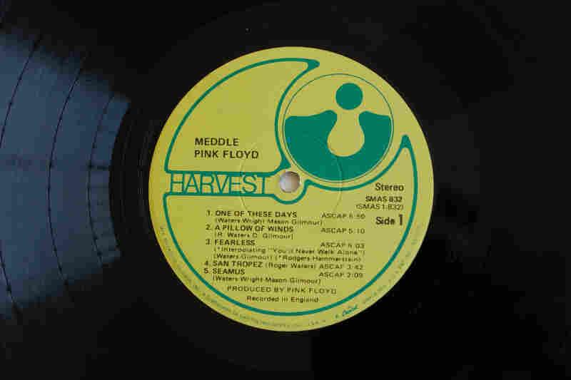 Harvest Records(Meddle by Pink Floyd, 1971)