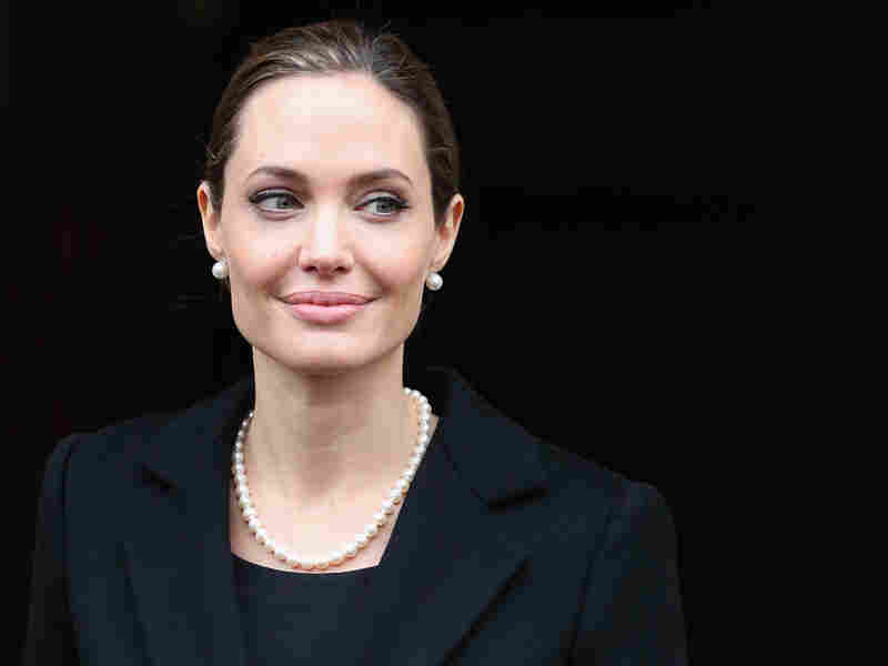 Angelina Jolie, seen here in April, wrote in The New York Times about her double mastectomy.