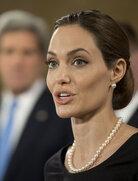 Actress Angelina Jolie at a