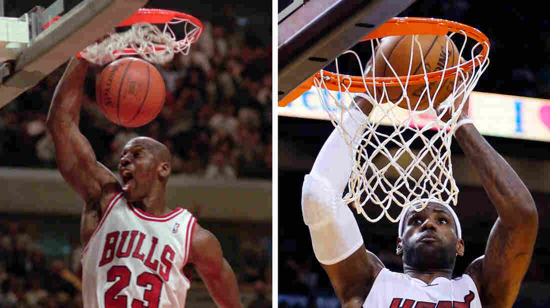 Watch The Throne: Not so long ago Michael Jordan was the GOAT. Now, there's a groundswell to ordain LeBron James as the greatest-of-all-time basketball player.