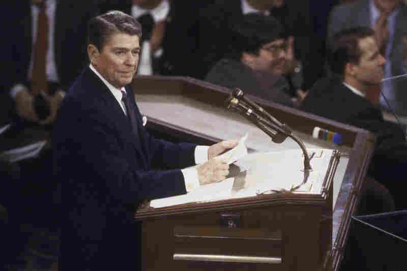 "In December 1986 and again during his State of the Union address a month later, President Reagan conceded that ""mistakes were made"" by his administration when it sold arms to Iran and shipped the proceeds to Contras in Nicaragua."