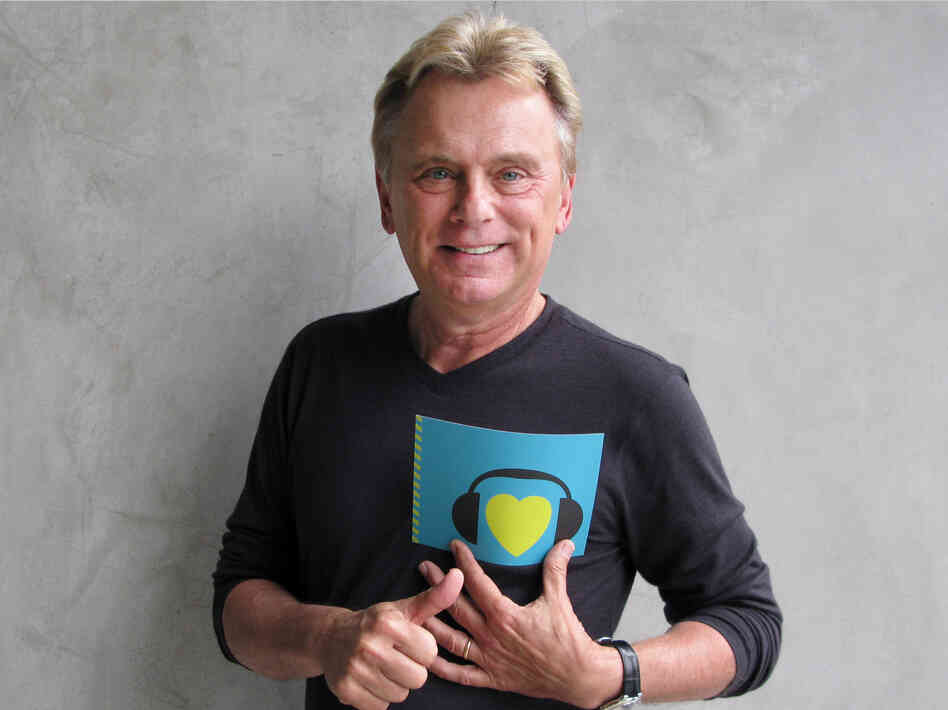 Pat Sajak at NPR West.