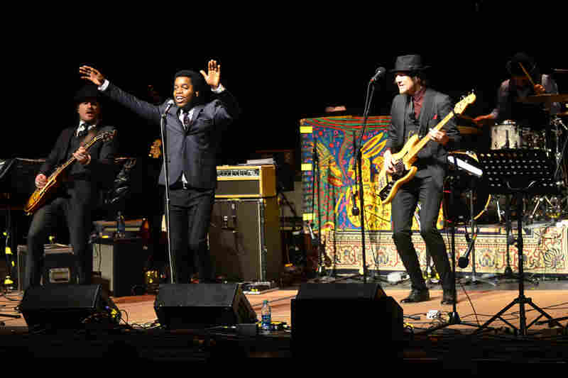 Vintage Trouble makes its first appearance on Mountain Stage, recorded live on the campus of West Virginia University in Morgantown.