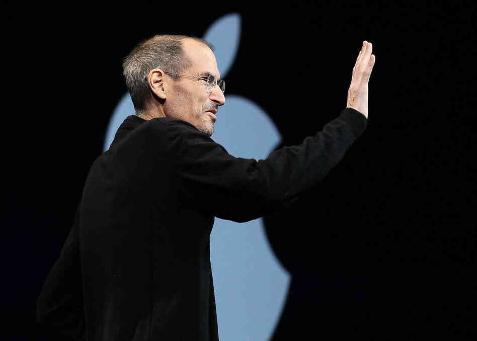 Former Apple CEO Steve Jobs at the 2011 Apple World Wide Developers Conference in San Francisco. He died later that year.
