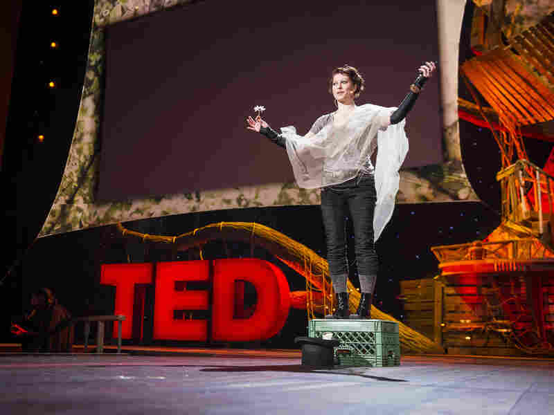 Musician Amanda Palmer says she learned about trust and giving when she was a street performer.