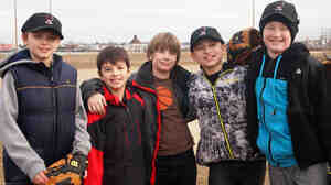 Little League baseball players in New York, where donations have helped teams and leagues get the 2013 season started.