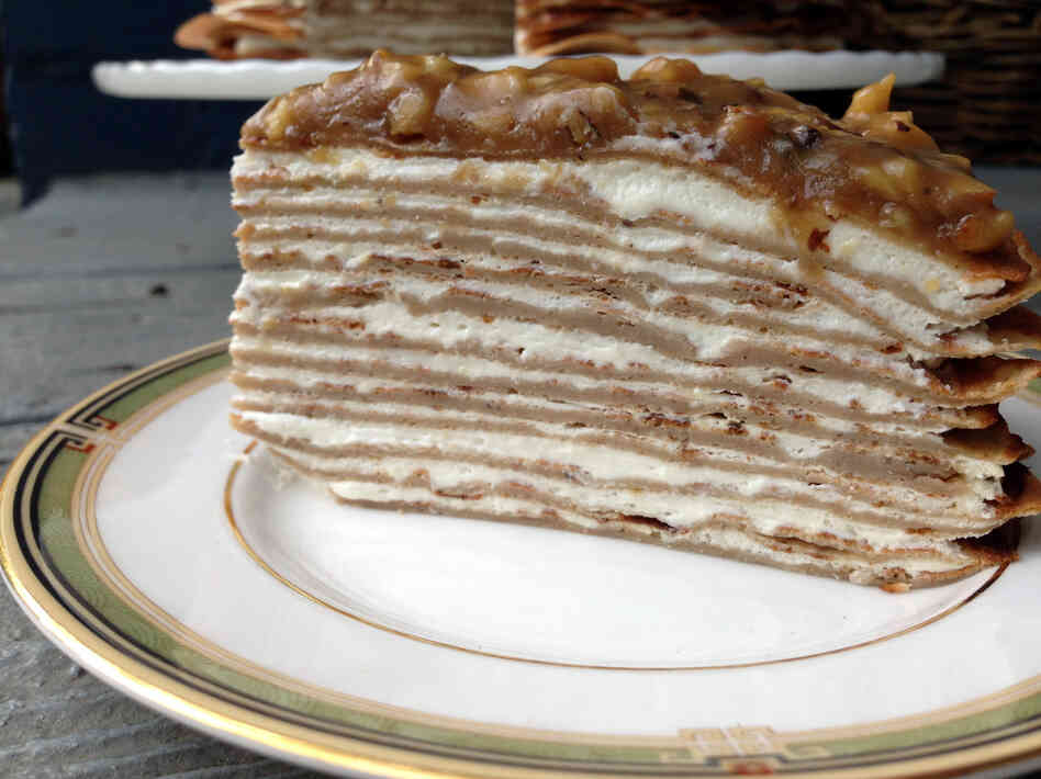Banana Bread Crepe Cake With Butterscotch Recipes — Dishmaps