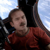 "Canadian astronaut Chris Hadfield. The video of Commander Hadfield's performance of David Bowie's song ""Space Oddity"" has been viewed more than 11 million times since it was posted to YouTube."